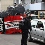 Grünberg - Keifende Neonazis geben sich schüchtern