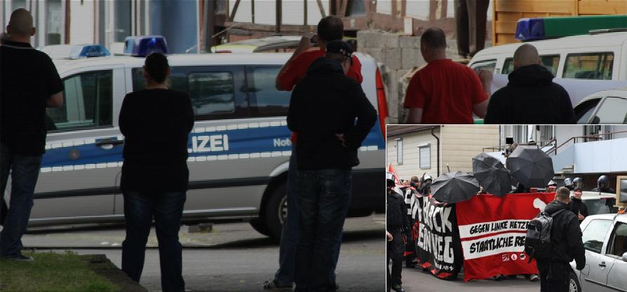 Rückblick: Solidarität mit den Demokraten in Allendorf im Lumdatal und in Grünberg