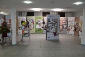 Die Ausstellung im Foyer des Wetteraukreises