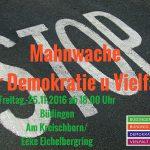Büdingen: Mahnwache und Demo gegen die extreme Rechte