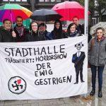 AfD Hessen tagt in Hofheim - Eine Partei auf strammen Rechtskurs