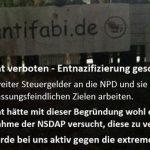 Büdingen: Nie wieder Faschismus - Büdingen zeigt Gesicht für Demokratie