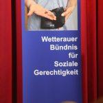 Wetterauer Sozialbündnis - Podiumsdiskussion mit den Landratskandidat*innen